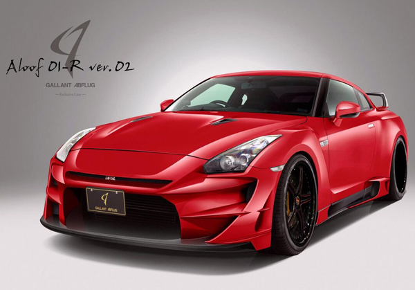 Nissan GT-R Aloof 01-R Version 2 от Gallant Abflug